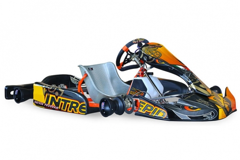 Intrepid Raptor 100cc Kart Chassis
