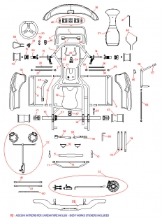 Intrepid Cruiser 125cc Kart Chassis (STD) Schematic