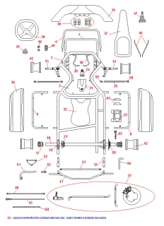 Download Maky 60cc Kart Chassis Schematic