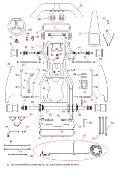 Download MT01 100cc Kart Chassis Schematic